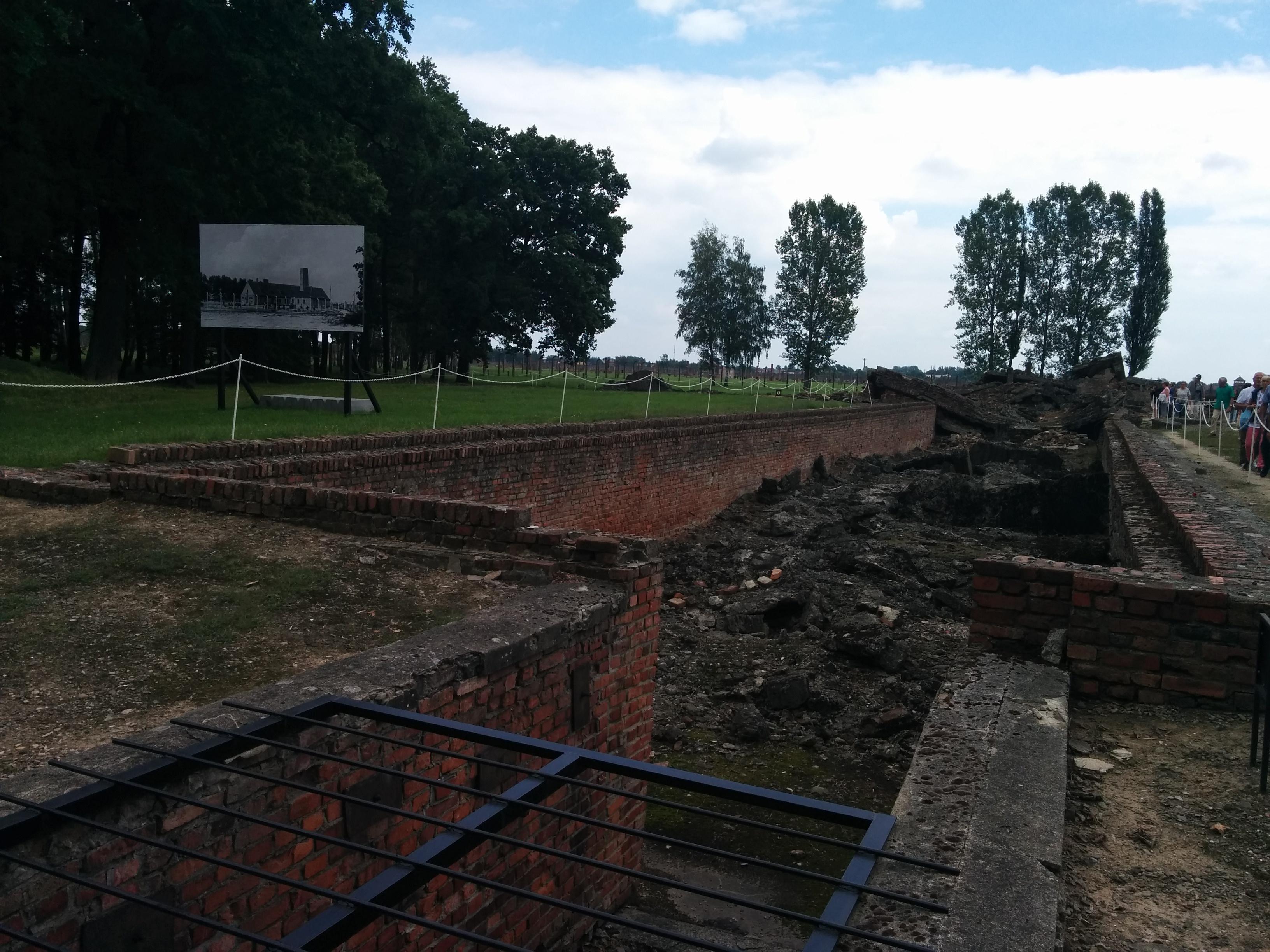 Auschwitz: gaskammarruin